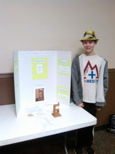 Noah science fair