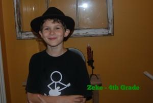 Zeke - 4th Grade
